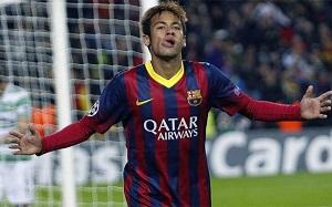 Neymar i Piqué w jedenastce tygodnia