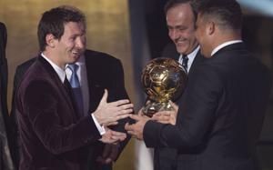 Ronaldo: Założę się, że Messi zdobędzie Złotą Piłkę