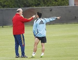 Del Bosque liczy na Xaviego