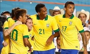 Trzy sparingi Brazylii przed Mundialem