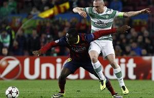 Dongou debiutuje na Camp Nou