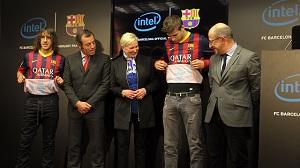 FC Barcelona i Intel podpisali umowę sponsorską