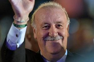 Del Bosque na temat braku Barçy w La Liga