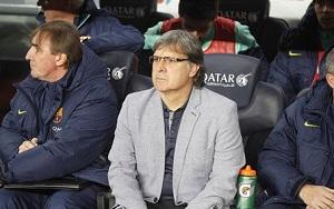 Tata Martino zadowolony ze swoich piłkarzy