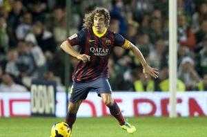 Puyol wraca na Camp Nou