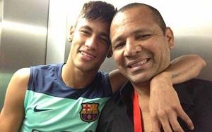 Neymar: Mój syn uczy się od Messiego