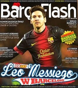 Grudniowe wydanie Barça Flash