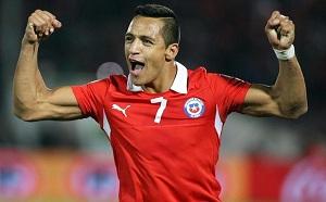 Alexis wyróżniony, jako najlepszy Chilijczyk za granicą