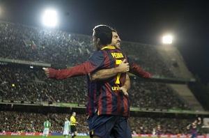 Pedro i Cesc: strzelcy poza Camp Nou