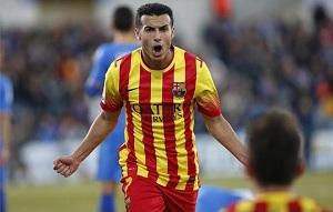 Barça niekwestionowanym liderem w 2013 roku