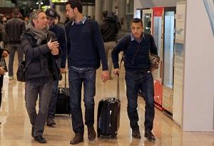 Siedmiu z Barçy zostało w Madrycie