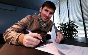 Messi podpisze lepszy kontrakt
