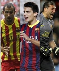 Bartra, Montoya i Pinto – wolni od stycznia