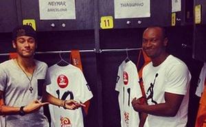Neymar ustrzelił manitę w meczu charytatywnym