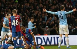 Manchester City lepszy od Crystal Palace