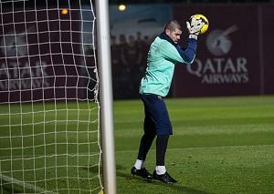 Valdés trenuje na pełnych obrotach