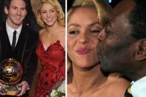 Messi popularniejszy niż Shakira i Pelé