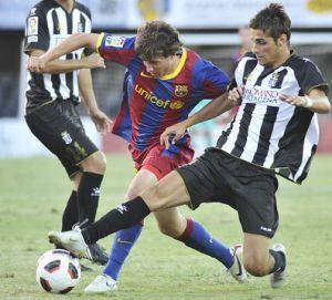 Sześciu zawodników Barçy grało już z Cartageną