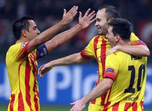 Busquets, Xavi i Iniesta nominowani do FIFA FIFPro World XI