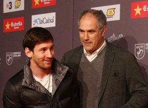 Zubizarreta odwiedzi Messiego w Argentynie