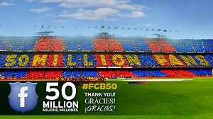 50 milionów fanów na Facebooku