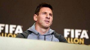 Konferencja prasowa Leo Messiego
