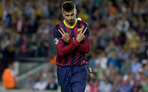 Piqué – zdobywca pierwszej bramki z rzutu rożnego w lidze