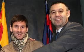 Bartomeu chce lepszego kontraktu dla Messiego