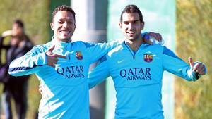 Trening przygotowujący do meczu z Valencią