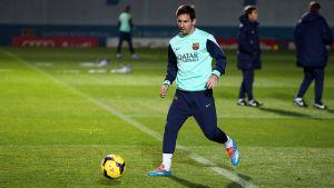 Messi dołączył do zespołu!