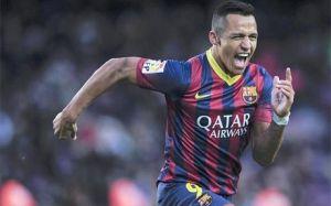 Pierwszy hat-trick Alexisa dla Barçy