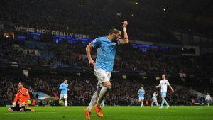 Manchester City miażdży w Capital One Cup