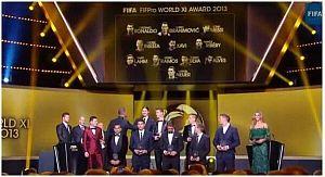 Czterech zawodników FC Barcelony w XI FIFA FIFPro