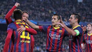 Statystyki FC Barcelony na półmetku La Liga