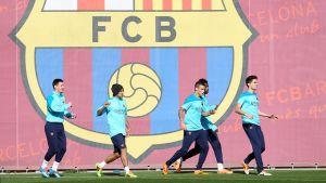 Powrót z Madrytu i trening