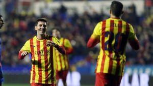 Statystyki z meczu Levante UD – FC Barcelona