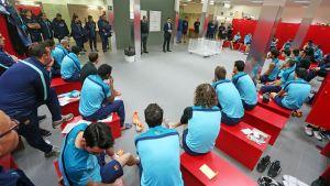 Spotkanie Bartomeu z piłkarzami