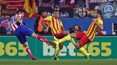 Bezbramkowy thriller: Atlético Madryt – FC Barcelona (0:0)