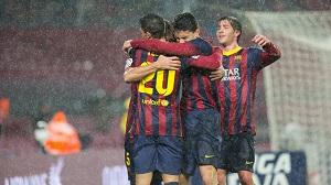 Siódmy raz Barcelony w półfinale Copa na przełomie ośmiu lat