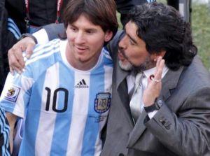 Maradona: Jeśli nie wygramy Pucharu Świata, nie wińcie Messiego