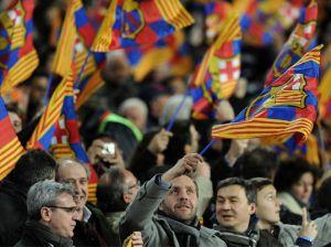 Barça uruchamia wiadomość powitalną na Camp Nou