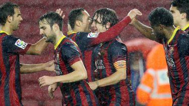 Manita i półfinał: FC Barcelona – Levante UD (5:1)