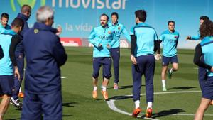 Powrót do Barcelony i treningów