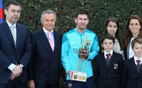 Messi odebrał nagrodę Aldo Roviry za ubiegły sezon
