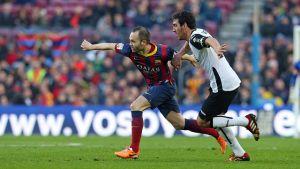 Statystyki z meczu FC Barcelona – Valencia CF