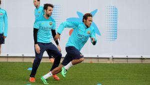 Neymar trenuje z grupą