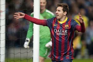 Messi trafia w Anglii
