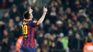 Dwanaście goli Messiego w 2014 roku