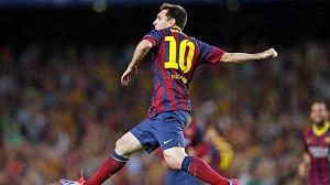 Messi, na gola od Di Stéfano