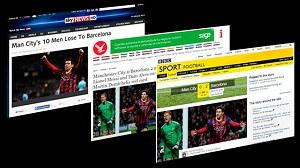 Brytyjska prasa analizuje wygraną FC Barcelony